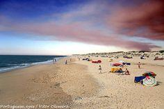 Praia do Poço da Cruz ou dos Palheiros de Mira - Portugal -spent many days there