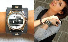 Zegarek z aparatem Zenit - damski w Understore na DaWanda.com