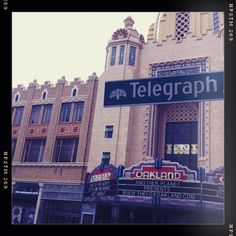 The Fox Theater on Telegraph. Not a show worth missing here!