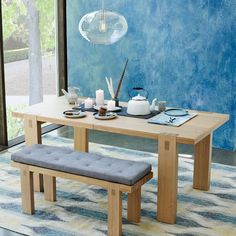 Modern Woodwork Dining Table $599 sale