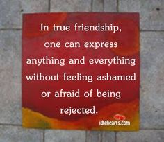 It is the best and truest friend who honestly tells us the truth about ourselves even when he knows we shall not like it. False friends are the ones who hide such truth from us and do so in order to remain in our favor.