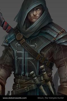 Kiroun, The Vampire Hunter