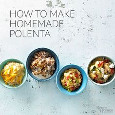 Dish up soft and creamy polenta right from the saucepan, or spread it in a pan, chill it, and slice. Either way, it's a tasty addition to a menu or recipe./