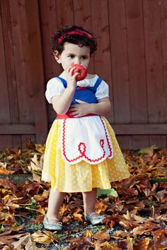 Sweetest Snow White ever. Modern Kiddo - Where vintage and modern style for kids meet.