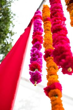 Indian wedding colorful floral. Wildflower_Linen_Divine_Affairs_Karl_Ko_Photography