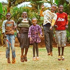Jump with your whole heart. #Tanzania #Africa @servingorphans