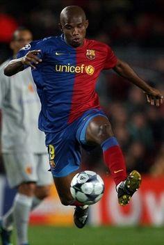 Samuel Eto'o, FC Barcelona (2004-2009)