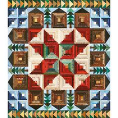 Barnstable Common Quilt Pattern. Like the pinwheel in the center of the star.