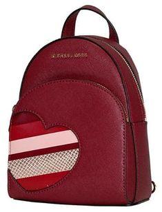 Michael Kors HEARTS ABBEY Xsmall MINI Backpack Michael Kors Backpack 2b938ff0e1bc2