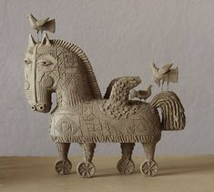 """Pegasus in Troja. 