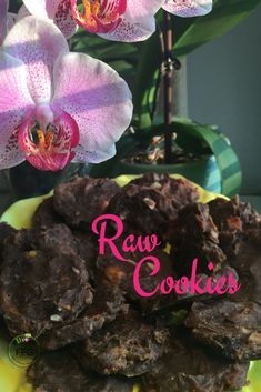 🌿🌞🍃🍘 RAWcipe! RAW, Organic, Gooey Cookies! YUM! 1/2cup Ground Almond (flour) 1/2cup Maple Syrup 1/2cup Chopped Nuts (Walnuts, Brazil, Hazelnut) 4 Pitted Dates 2 Tablespoons Almond Butter Blend together with High Speed Blender like @Vitamix Shape into cookies and put on @excalibur Dehydrator tray for 6-8 hours🍘 Almond Butter, Almond Flour, Excalibur Dehydrator, Gooey Cookies, Ground Almonds, Raw Desserts, 8 Hours, Feeling Great, Maple Syrup
