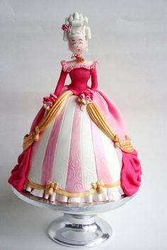 Cake Wrecks - Sunday Sweets: Marie Antoinette theme (amazing entries!)