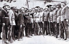 Turkish troops being instructed in the use of the German service rifle: Gallipoli Part II, March 1915 to January 1916 in the First World War World War One, First World, Gallipoli Campaign, Ww1 Soldiers, Ottoman Empire, Central Asia, The Republic, Military History, Troops
