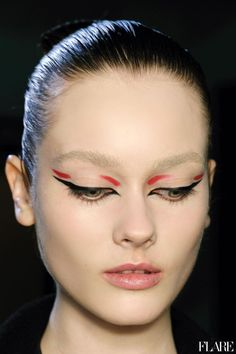 Makeup Look for Mugler Fall 2012