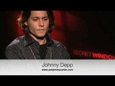 Johnny Depp interview Secret Window