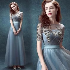 Vintage A Line Long Formal Evening Dress 2015 Celebrity Pageant Party Prom Gown in Clothing, Shoes & Accessories, Wedding & Formal Occasion, Bridesmaids' & Formal Dresses Evening Dress 2015, Sequin Evening Dresses, Ball Gowns Evening, Ball Gowns Prom, Evening Party, Elegant Homecoming Dresses, Cocktail Bridesmaid Dresses, Elegant Dresses, Gown Wedding