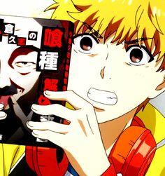 Hide(Tokyo Ghoul) Anime Guys, Manga Anime, Anime Art, Hide Tokyo Ghoul, Tokyo Ghoul Wallpapers, Moving Wallpapers, Light Of My Life, Moving Pictures, Kaneki