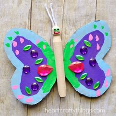 If you've been looking for a fun and colorful craft to make for spring, this pretty butterfly craft definitely needs to be on your to-do list! In fact, I've been so excited to share it with you ever since we made it. My daughter and I had an afternoon full of fun making our colorful …