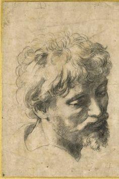 Hoofd van een Jonge Apostel - Rafael