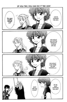 Words with double meanings? Could not stop laughing.    Akatsuki no Yona