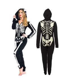 Glow in the Dark Skeleton Onesie - Tragic Beautiful buy online from Australia