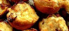 Dough Biltong and Cheese Muffins Savory Muffins, Cheese Muffins, Savory Snacks, Easy Snacks, Cheese Pies, Baking Muffins, Kos, Braai Recipes, Appetizer Recipes
