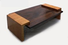 modern wooden coffee table