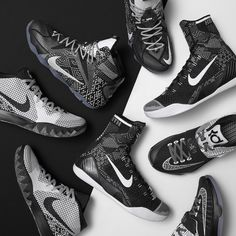 """Nike Kyrie 1 """"BHM"""" Color:White/Black-Dark Grey Style Code:718820-100 Release Date:01/19/15 Price:$130"""