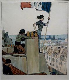 Edward Hopper peinture Victor Hugo, l'année terrible On the Rooftops 1906 exposition Galeries nationales du Grand Palais
