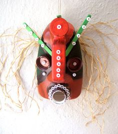 My Adventures In Positive Space: Recycled African Masks