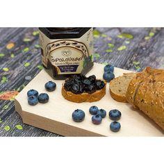 Toploveana Blueberry Jam, no added sugar or preservatives