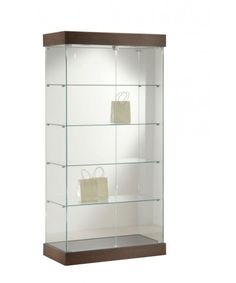 Full Glass Top Lighted Fashion Display Cabinet-FAS-1677-32