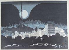 関野準一郎 Junichiro Sekino (1914 - 1988) 品川 Shinagawa