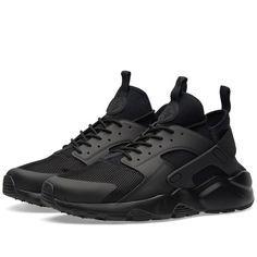 Nike Air Huarache Run Ultra (Triple Black) Módní Přehlídky 5ceb1a80541