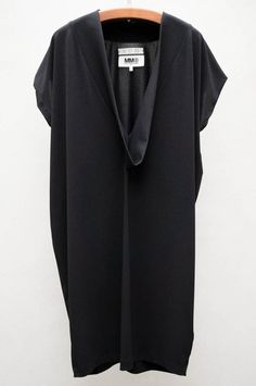 Deep V Cocoon Dress by MM6 by Maison Martin Margiela