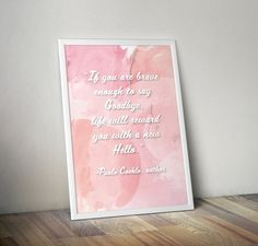 If You are Brave Enough Print