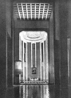 Stanisław Marzyński, Kościół św. Klemensa, Warsaw, 1932 Interwar Period, Warsaw, Decoration, Art Deco, Design Inspiration, Poland, Bullet, Butterfly, Photos