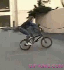 Bmx bike fail