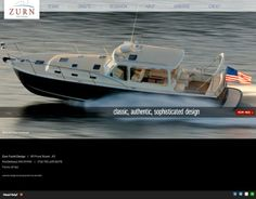 Bartlett Interactive designed & developed a visually beautiful website for Zurn Yacht Design (ZYD). Corporate Website Design, Responsive Web Design, Yacht Design, Branding Services, Marketing Automation, Drupal, Corporate Identity, Logo Design, Boat