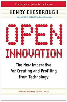 Open Innovation: The New Imperative for Creating and Profiting from Technology by Henry W Chesbrough, http://www.amazon.co.uk/dp/1578518377/ref=cm_sw_r_pi_dp_cVJ2tb19SSSC0