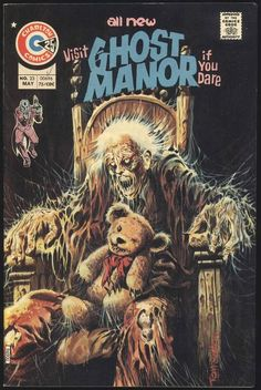 Cover of Ghost Manor No. 23 (1975) art by Tom Sutton