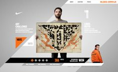 Nike art contest. #website