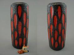 Seltene Vintage Vase / Scheurich / 532 28 / Fat Lava | West Germany | WGP | 60er von ShabbRockRepublic auf Etsy