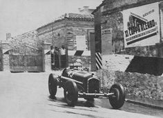 COPPA ACERBO 1935 , Alfa Romeo P3 #43 of Tazio Nuvolari
