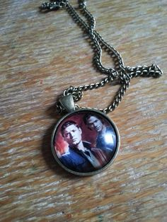 Supernatural Inspired Necklace by AwesomeOddities on Etsy