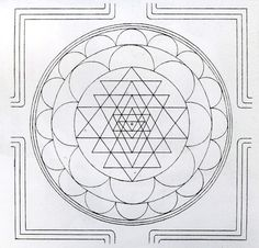 ".. .. This is my article about the Sri Chakra Yantra, and how to draw one for ourselves.  It first appeared in ""Self Enquiry"", a number of years ago.   Readers of The Sacred India Tarot will note, that the back of the cards carries this design, white on ochre gold, the colour of Sannyas on…"