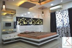 A dream design is designed here. Call them to get an Idea about Interior Design Latest Bedroom Design, Luxury Bedroom Design, Room Design Bedroom, Bedroom Furniture Design, Bedroom False Ceiling Design, Master Bedroom Interior, Interior Design Courses, Door Design Interior, Bedroom Cupboard Designs