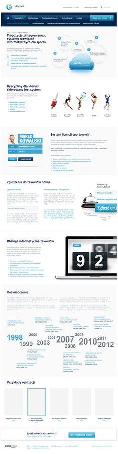 gut gestaltete Content Module. ePartner - scoring system by Łukasz Dopierała, via Behance