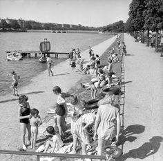 Sortedamssøen, 1957.