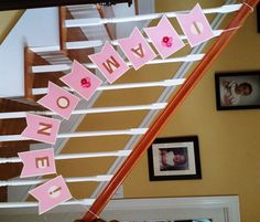 """Birthday Banner """"I am one"""" Little Girl by IttyBittyBoutik on Etsy"""